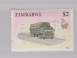 Zimbabwe S 630 1990 Transports,$ 2 Tractor Trailer Truck, MNH - Zimbabwe (1980-...)