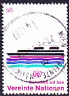 UN Wien Vienna Vienne - Sicherheit Auf See (Mi.Nr.30) 1983 - Gest Used Obl - Centre International De Vienne