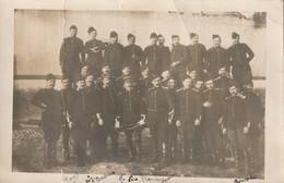 CP Photo 14-18 Les Poilus Du 1er Peloton, 6ème Escadron, 2ème Régiment De Dragon (A216, Ww1, Wk 1) - War 1914-18