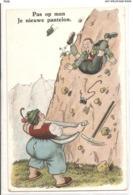 CPH 294  OLD POSTCARD , HUMOR FANTASY , - Humor
