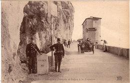 Douaniers Français Et Italien A La Frontière - Auto   (117704) - Douane