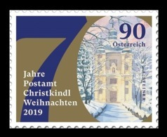 Austria 2019 Mih. 3495 Christmas (II). Christmas Post Office (self-adhesive) MNH ** - 1945-.... 2nd Republic