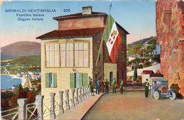 Grimaldi - Ventimiglia - Frontière Italienne - Auto   (117705) - Douane