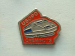 PIN'S TGV - USOPO CHEMINOTS - TGV