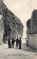 Frontière Franco - Italienne - Douaniers Français Et Italiens (117707) - Douane