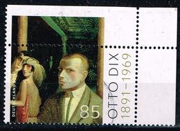 Bund 2016,Michel# 3267 O 125. Geburtstag Von Otto Dix - BRD