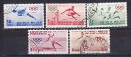 Belg.Kongo - Congo Belge (g) Nr 367-371      B     Gestempeld- Obliteré - Used - Congo Belge