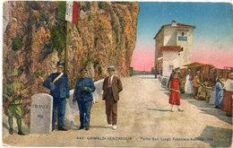 GRIMALDI-VENTIMIGLIA - Ponte San Luigi  - Douaniers A La Frontière (117711) - Douane