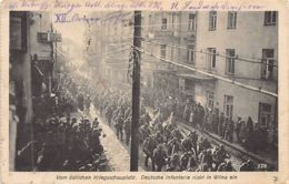 Lithuania - VILNIUS - German Troops During WW1. - Lithuania