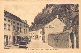LAROCHETTE - La Route De Mersch - Café De L'Amérique - Café Du Luxembourg - Ed. Schoren. - Larochette