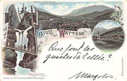 Osterreich - WATTENS (T) - Gruss Aus Wattens Bei Hall, Tirol - Litho - Wattens