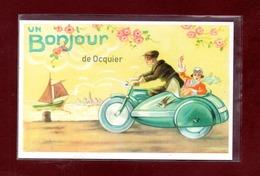 BELGIQUE-CARTE POSTALE OCQUIER - Clavier