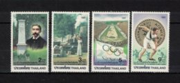 THAILAND ,  1996 ** , MNH , Postfrisch ,  Mi.Nr. 1718 - 1721 - Thaïlande