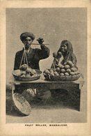INDIA // INDE. BANGALORE. FRUIT SELLER - India