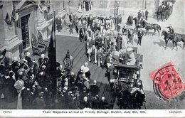 CORONATION OF KING GEORGE AND QUEEN MARY  -  June 22nd 1911  -  The Royal Coach Passing Through The Mall - Altri