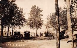CARLYLE LAKE - AN EARLY REAL PHOTO POSTCARD #9E1 - Saskatchewan