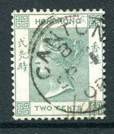 Hong Kong - Used In China - Canton - 1900-01 QV (Wkmk. Crown CA) - 2c Dull Green Used (SG Z178) - Usati