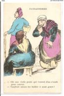 CPH 322  OLD POSTCARD , HUMOR FANTASY , - Humor
