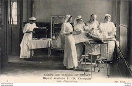 D94  CHAMPIGNY  Hôpital Auxiliaire F.120  Salle D'Opérations Union Des Femmes De France - Champigny Sur Marne
