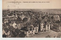 C. P. A.-  LE CROISIC - PANORAMA VERS LA JETÉE ET LA RADE - PRIS DU CLOCHER - 8 - F. CHAPEAU - Le Croisic