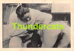 ANCIENNE PHOTO 1940'S FEMME COUPLE NU NUE EROTIQUE VINTAGE PHOTO NUDE FEMALE LADY COUPLE EROTIC MALE HOMME 10 CM X 7 CM - Belleza Feminina (1941-1960)