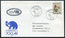 1989 Denmark Nykobing 700th Anniversary Bear Cover - Danimarca