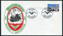 1987 Denmark Maribo Railway Train Museum DSB Cover - Covers & Documents