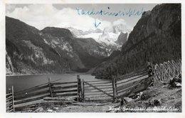 VORD. GOSAUSEE U. DACHSTEIN-REAL PHOTO-1950 - Gmunden