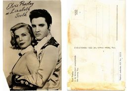 CPA AK Elvis Presley -Lizabeth Scoth FILM STAR (554201) - Actors