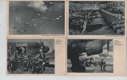 PR7638/ Deutsches Reich 8 PC Junkers Flugzeuge Im Fronteinsatz Männer & Maschinnen MINT - Guerre 1939-45