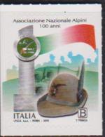 ITALY, 2019, MNH,MOUNTAINS, CLIMBING, ALPINE ASSOCIATION, 1v - Escalade