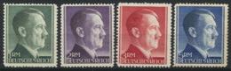 Deutsches Reich 799/802A** Postfrisch - Nuevos
