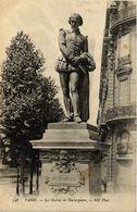 CPA PARIS 8e La Statue De Shakespeare (258901) - Statuen