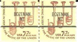 USA Precancel - Bozeman - Cow - Cattle - Stamps