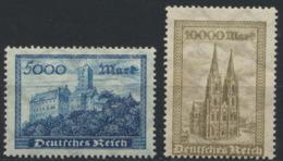Deutsches Reich 261/62 ** Postfrisch - Nuovi