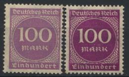 Deutsches Reich 268a+b ** Postfrisch - Nuovi