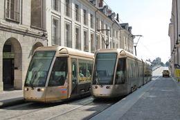 Orléans (45) Août 2008 Tramway D'Orléans Ligne A - Station Royale-Chatelet Rames Citadis Alstom 301 - Orleans