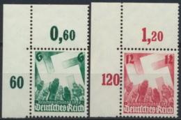 Deutsches Reich 632/33 Eckrand ** Postfrisch - Allemagne