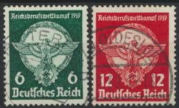 Deutsches Reich 689/90 O - Usados