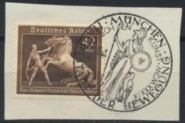 Deutsches Reich 699 O Briefstück Sonderstempel München - Allemagne