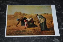 8321-       WIECHMANN BILDKARTEN, FRANCOIS MILLET - DIE ÄHRENLESERINNEN / PARIS, LOUVRE - Künstlerkarten