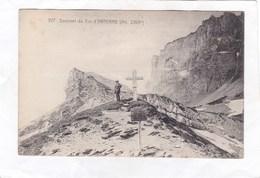 CPA :  14 X 9  -  927.  Sommet  Du  Col  D' ANTERNE - France
