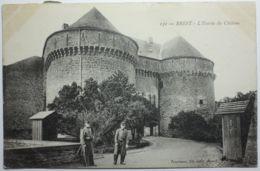 BREST L'entrée Du Château - Brest