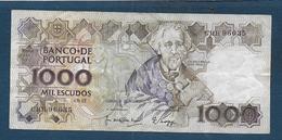 Portugal - 1000 Escudos De 1989 - Portugal