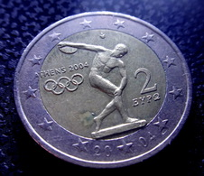 Greece 2 Euro 2004 Olympic Games In Athens 2004  Coin  CIRCULATED 1 - Grèce