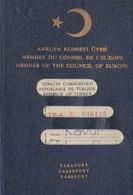 Turquie, Türkiye Passeport. - Documents Historiques