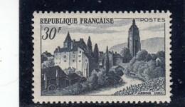 France - 1951 - N° YT 905** - Vue D'Arbois - Unused Stamps