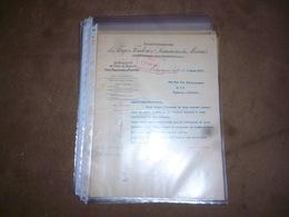 FF6  Document  Facture Fonderies Laminoirs Du Marais Montignies Sur Sambre 1917 - Bélgica
