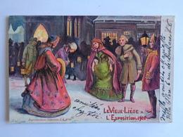 Liège - Le Vieux Liège à L'Exposition De 1905 - Veillée De Noël - Lüttich