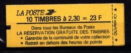 France Carnet 2614 C1A Date 21 11 89 - Markenheftchen